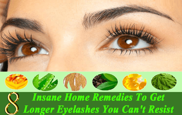 home remedies for longer eyelalashes