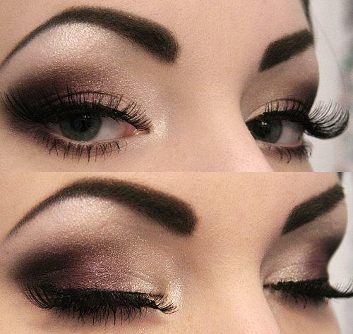 makeup for closed eyes