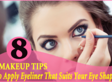 Apply Eyeliner That Suits Your Eye Shapes