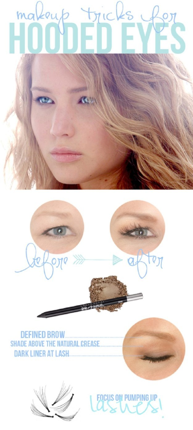 15 Magical Makeup Tips To Beautify Your Hooded Eyes In A Minute