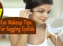 Eye Makeup Tips For Sagging Eyelids