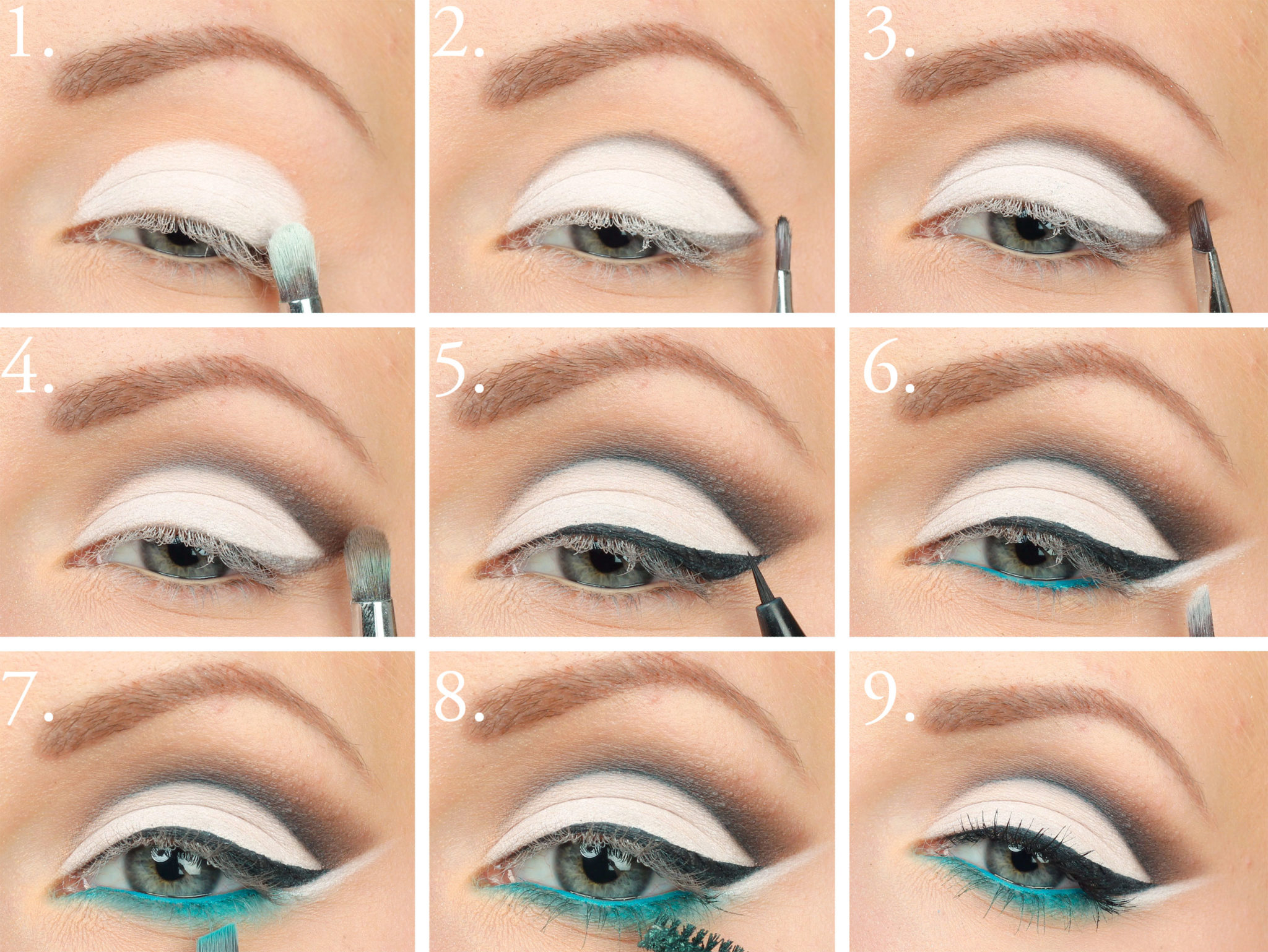 15 most easy to apply makeup tips for hooded eyes makeup tip 14 apply white eye shadow baditri Image collections