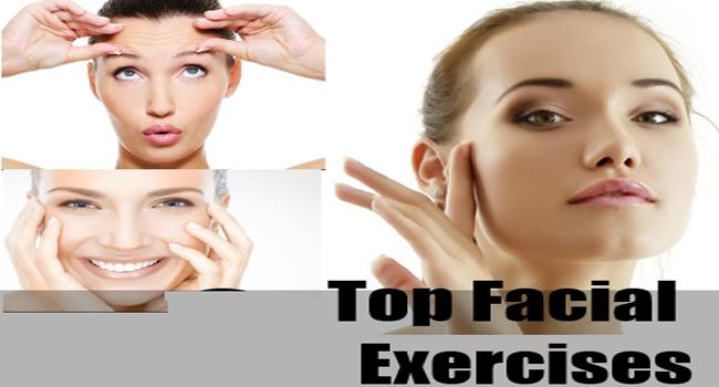 Free facial tightening exercises