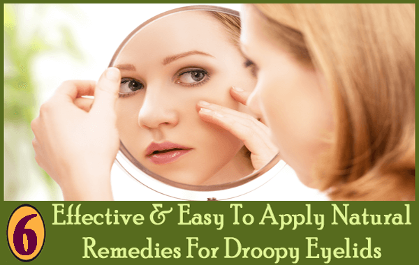 How to Treat Droopy Eyelids recommend