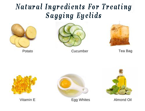 Home Remedy For Droopy Eyelids