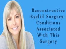 Reconstructive Eyelid Surgery
