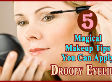 makeup tips to hide droopy eyelids