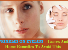 how to get rid of wrinkles on your eyelids
