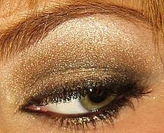 Do you have any idea that adding a little bit of shimmer and shine powder under your eyes can sometimes take away the appearance of your puffy eyes?