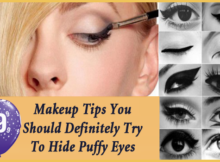 Makeup Tips for puffy eyes