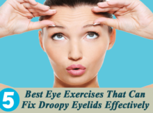 exercises for droopy eyelids