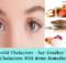 home remedies for eyelid-chalazions