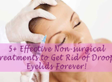 non-surgical treatments for droopy eyelids