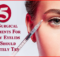 non surgical for droopy eyelids