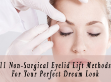 non-surgical eyelids lift