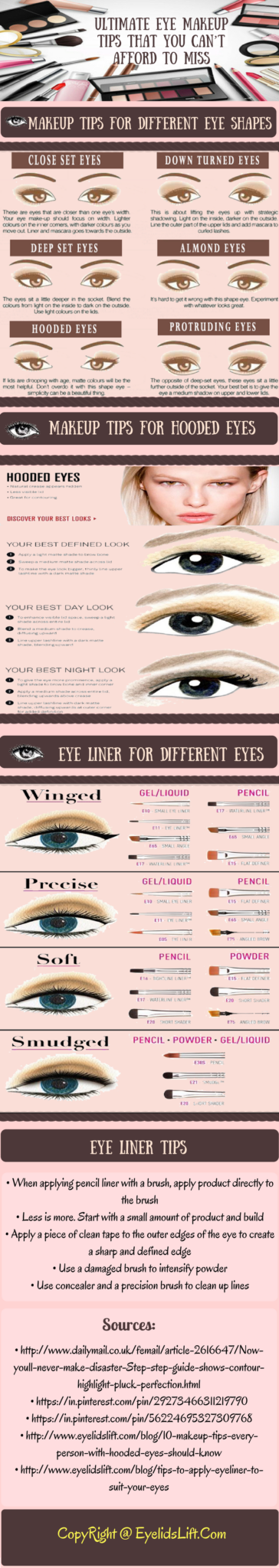 Ultimate Eye Makeup Tips That You Can't Afford To Miss