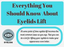 eyelids lift