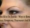 excess skin on eyelids