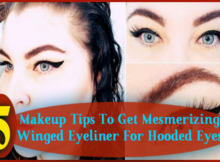 Winged Eyeliner For Hooded Eyes