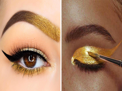 Gold Shade For Your Hazel Eyes 5. Another most important eye makeup ...