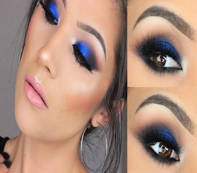 Another eye makeup tips for hazel eyes that you should agree on is to avoid too much blue shade. Yes, you should avoid applying too much blue eyeshadow on ...