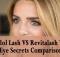Idol Lash VS Revitalash VS Eye Secrets Comparison