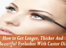 castor oil for thicker eyelashes