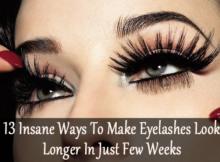 make eyelashes look longer
