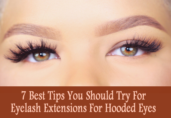 eyelash extensions for hooded eyes